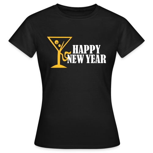 Happy New Year - Vrouwen T-shirt