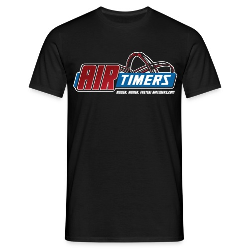 T-Shirt mit Ride On! Backprint - Männer T-Shirt