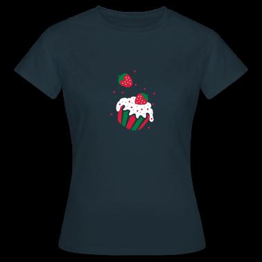strawberry cupcake T-Shirts
