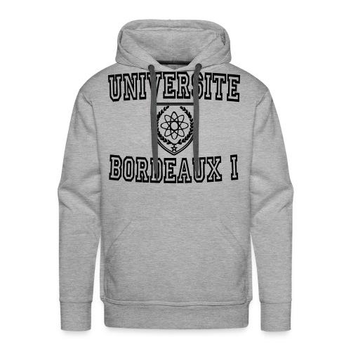 Sweat-shirt à capuche Premium pour hommes - t shirt université bordeaux 1,t shirt bordeaux 1,sweatshirt universite bordeaux 1,sweatshirt universite bordeaux,boutique bordeaux segalen,bordeaux apparel,bordeaux 1 apparel