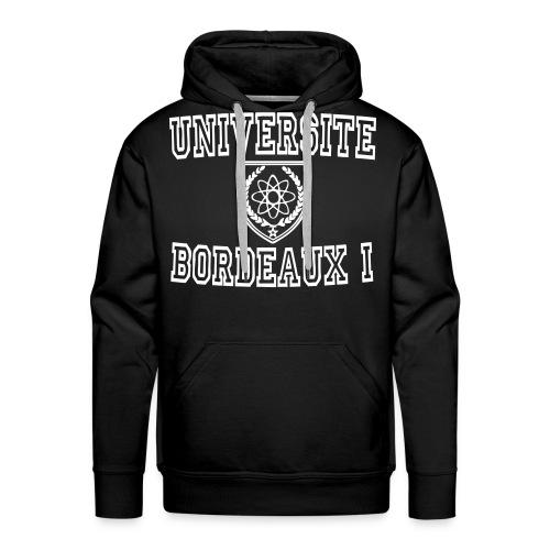 Sweat-shirt à capuche Premium pour hommes - université boreaux 1,t shirt université bordeaux 1,t shirt bordeaux 1,sweatshirt universite bordeaux 1,sweatshirt universite bordeaux,boutique bordeaux segalen,bordeaux apparel,bordeaux 1 apparel