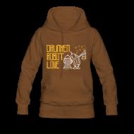 Pullover & Hoodies ~ Frauen Premium Kapuzenpullover ~ Robot Love
