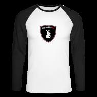 Langarmshirts ~ Männer Baseballshirt langarm ~ myrabbits Baseballshirt Big Logo