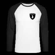 Langarmshirts ~ Männer Baseballshirt langarm ~ myrabbits Baseballshirt