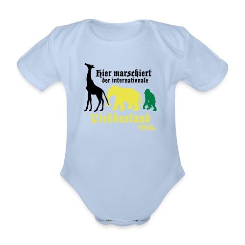 Der internationale Viehbestand - Baby Bio-Kurzarm-Body
