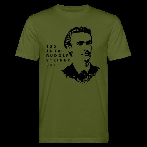 150 Jahre Rudolf Steiner 2011 Bio Shirt - Men's Organic T-Shirt