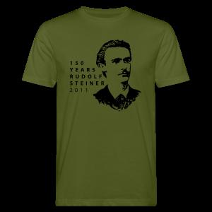150 Years Rudolf Steiner 2011 Bio Shirt - Männer Bio-T-Shirt