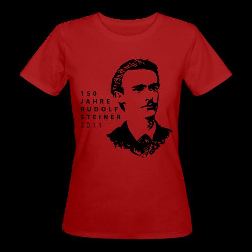 150 Jahre Rudolf Steiner 2011 Bio Shirt - Frauen Bio-T-Shirt