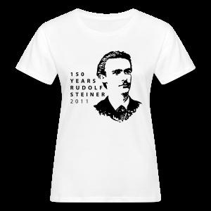 150 Years Rudolf Steiner 2011 Bio Shirt - Frauen Bio-T-Shirt