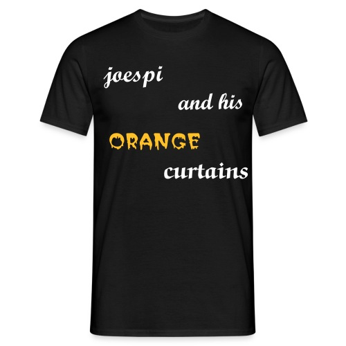 joespi band vocals n guitar t-shirt men - Men's T-Shirt