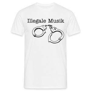 Ilegale Musik .- Girly - Männer T-Shirt