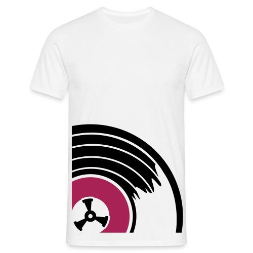 Big Winyl (Malinowy) - Koszulka męska