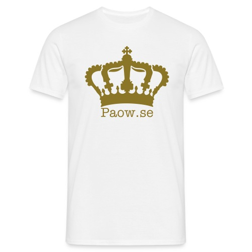 Paow.se (Paow is the king) - T-shirt herr