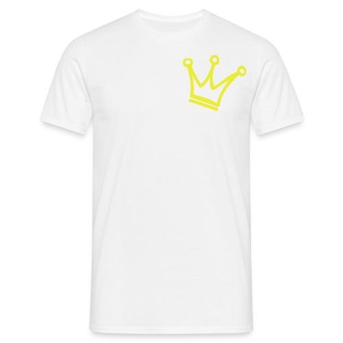 Crown Maund's Mens Neon yellow T-shirt  - Men's T-Shirt