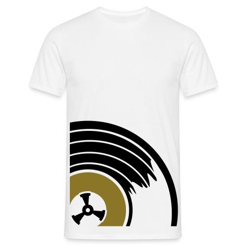 Big Winyl (Złoty metalik) - Koszulka męska