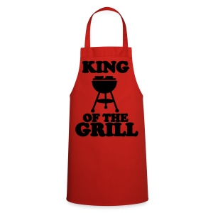 King Of The Grill Novelty Apron - Cooking Apron