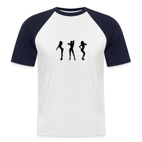 Dancing Gogos - Männer Baseball-T-Shirt