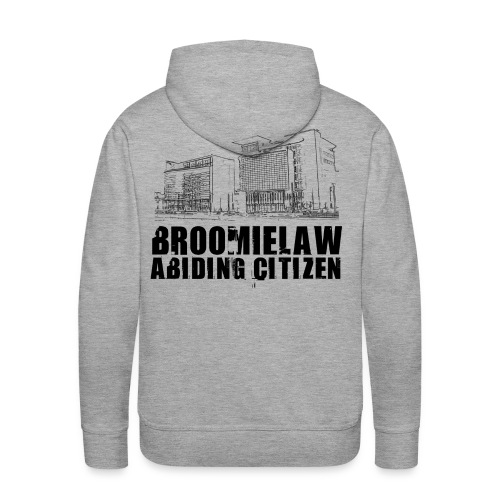 Broomielaw Abiding Citizen - Men's Premium Hoodie
