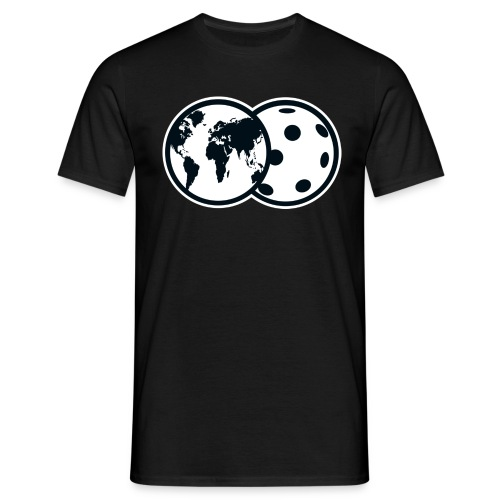 Planet Floorball (m) - Men's T-Shirt