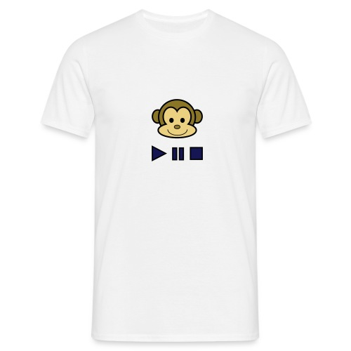 Mens Music Monkey T-Shirt - Men's T-Shirt