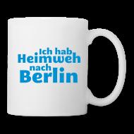 Tassen & Zubehör ~ Tasse ~ Ich hab Heimweh nach Berlin - Tasse