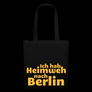 Taschen & Rucksäcke ~ Stoffbeutel ~ Ich hab Heimweh nach Berlin - Tasche