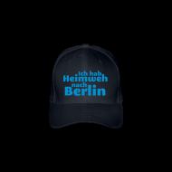 Caps & Mützen ~ Flexfit Baseballkappe ~ Ich hab Heimweh nach Berlin - Mütze