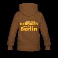 Pullover & Hoodies ~ Frauen Premium Kapuzenpullover ~ Ich hab Heimweh nach Berlin - Frauen Kapuzenpullover