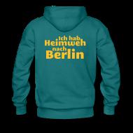 Pullover & Hoodies ~ Männer Premium Kapuzenpullover ~ Ich hab Heimweh nach Berlin - Männer Kapuzenpullover