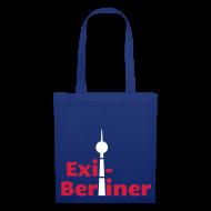 Taschen & Rucksäcke ~ Stoffbeutel ~ Exil-Berliner - Tasche