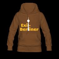 Pullover & Hoodies ~ Frauen Premium Kapuzenpullover ~ Exil-Berliner - Frauen Kapuzenpullover