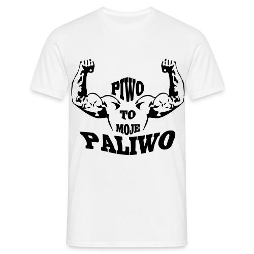 Piwo to moje paliwo - Men's T-Shirt