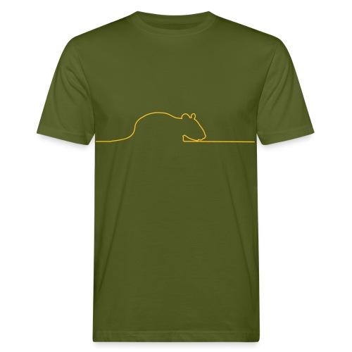 Ratte On-Line Herren - Männer Bio-T-Shirt