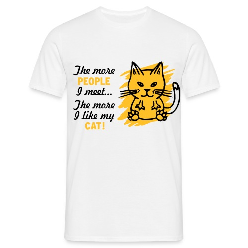 cat lover t-shirt - Men's T-Shirt