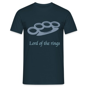 Lord of the rings, Schlagring Shirt - Männer T-Shirt