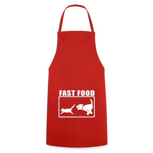Grillschürze Fast Food - Kochschürze