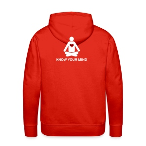Know your mind - BACK PRINT - Men's Premium Hoodie