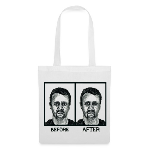 Before/After Tote Bag - Tote Bag