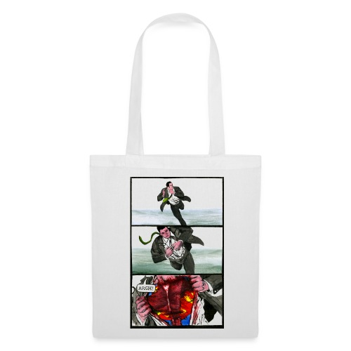 Superhero Tote Bag - Tote Bag