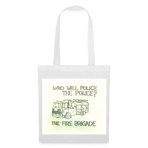 WHO WILL P0LICE THE P0LICE Tote Bag - Tote Bag