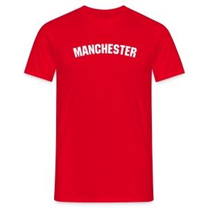 Manchester Red T-Shirt - Men's T-Shirt