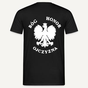 Bóg, Honor, Ojczyzna - Koszulka męska