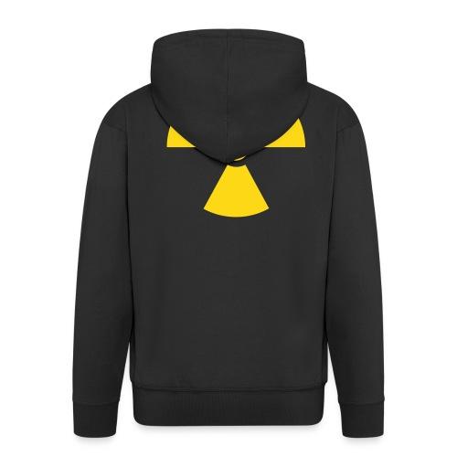 Radioactive Black Hooded Jacket - Men's Premium Hooded Jacket