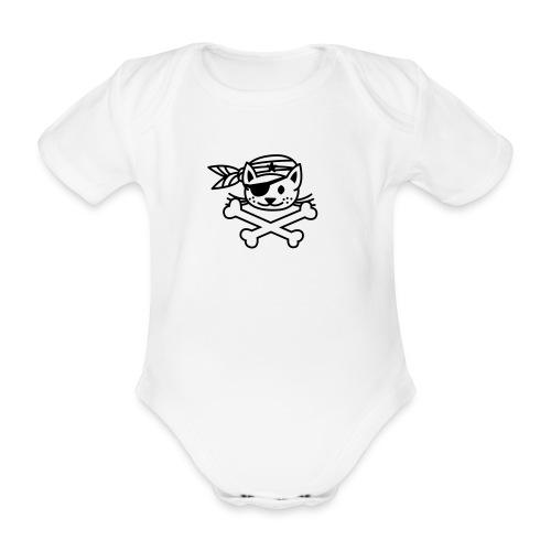 Pirate - Body bébé bio manches courtes