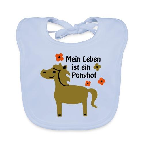 Baby Bio Lätzchen Ponyhof - Baby Bio-Lätzchen
