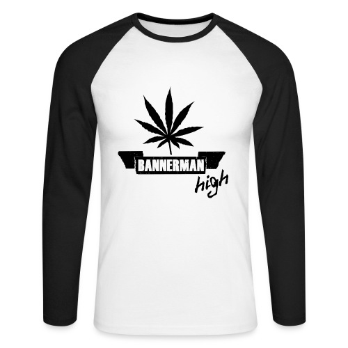 Bannerman High - Men's Long Sleeve Baseball T-Shirt