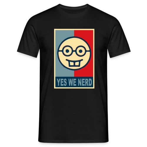 Camiseta Yes We Nerd - Camiseta hombre