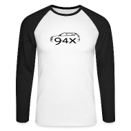Long sleeve shirts ~ Men's Long Sleeve Baseball T-Shirt ~ New Saab9-4x