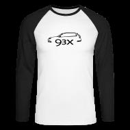 Long sleeve shirts ~ Men's Long Sleeve Baseball T-Shirt ~ Saab9-3x