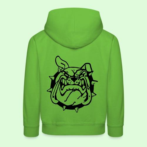 Le sourire du Bulldog - Pull à capuche Premium Enfant